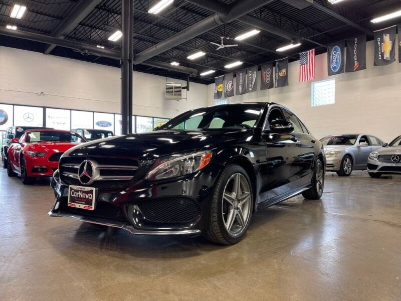2015 Mercedes-Benz C-Class for sale at CarNova in Sterling Heights MI