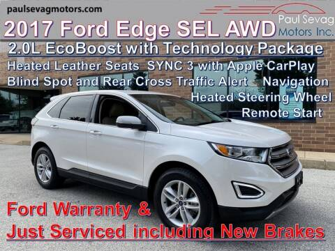 2017 Ford Edge for sale at Paul Sevag Motors Inc in West Chester PA