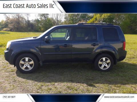 2011 Honda Pilot for sale at East Coast Auto Sales llc in Virginia Beach VA