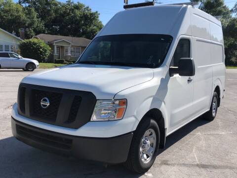 2015 Nissan NV Cargo for sale at LUXURY AUTO MALL in Tampa FL