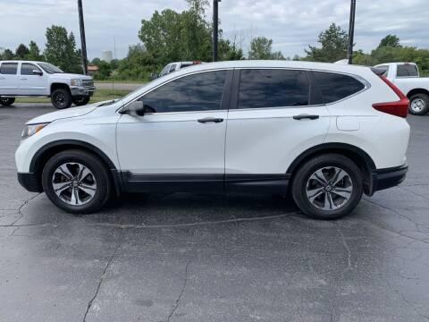 2018 Honda CR-V for sale at Hawkins Motors Sales in Hillsdale MI