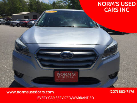 2016 Subaru Legacy for sale at NORM'S USED CARS INC in Wiscasset ME