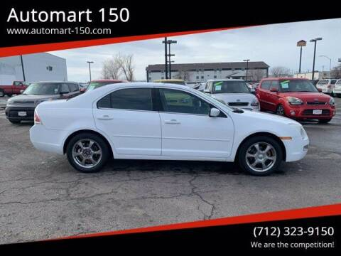 2006 Ford Fusion for sale at Automart 150 in Council Bluffs IA