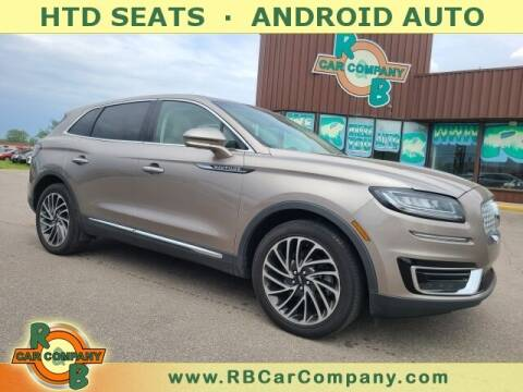 2019 Lincoln Nautilus for sale at R & B Car Co in Warsaw IN