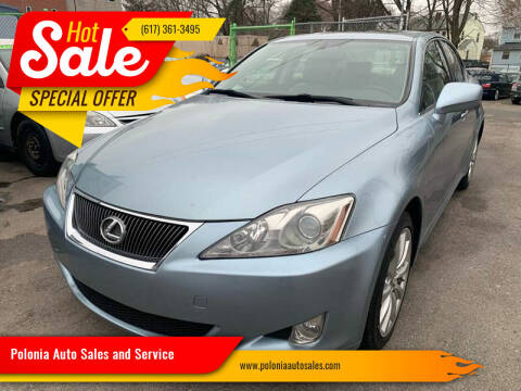 2007 Lexus IS 250 for sale at Polonia Auto Sales and Service in Hyde Park MA