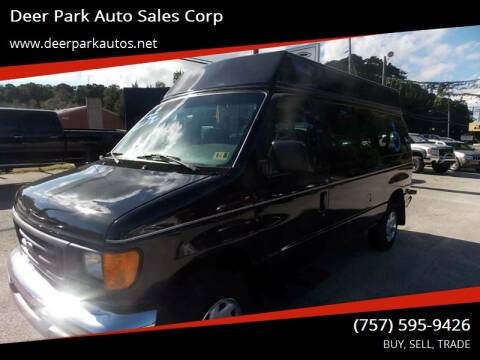 2006 Ford E-250 for sale at Deer Park Auto Sales Corp in Newport News VA