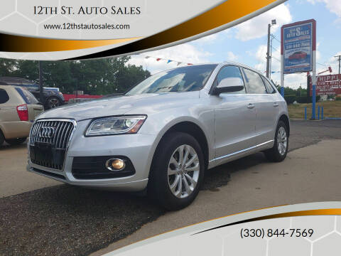 2014 Audi Q5 for sale at 12th St. Auto Sales in Canton OH