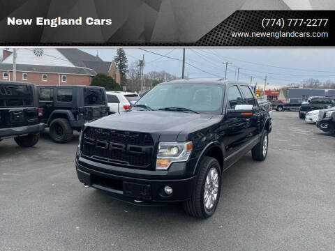 2013 Ford F-150 for sale at New England Cars in Attleboro MA