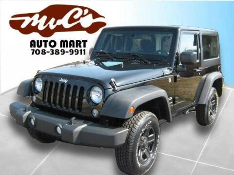 2015 Jeep Wrangler for sale at Mr.C's AutoMart in Midlothian IL
