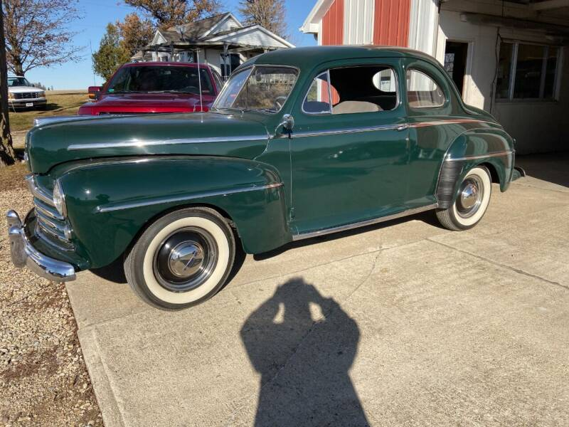 1947 Ford 2 Door  Coupe for sale at Dream Machines in Cedar Falls IA