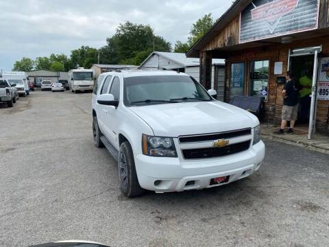 2013 Chevrolet Tahoe for sale at LEE AUTO SALES in McAlester OK