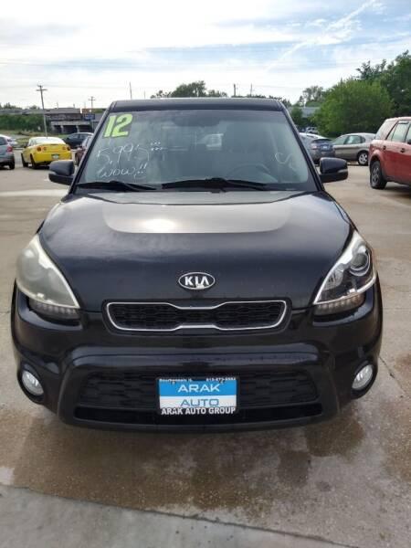 2012 Kia Soul for sale at Arak Auto Group in Bourbonnais IL