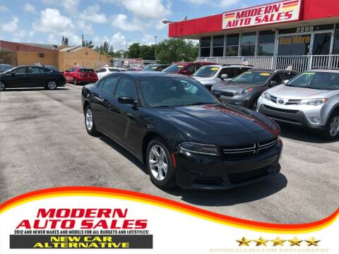 2016 Dodge Charger for sale at Modern Auto Sales in Hollywood FL