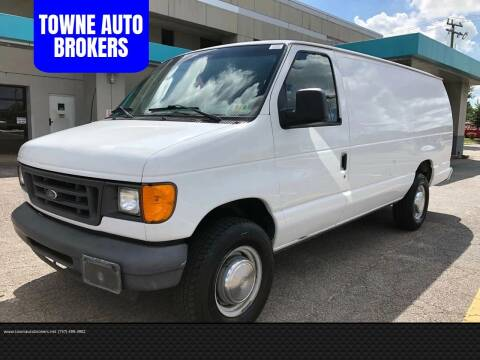 2005 Ford E-Series Cargo for sale at TOWNE AUTO BROKERS in Virginia Beach VA