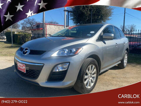 2011 Mazda CX-7 for sale at CARBLOK in Lewisville TX