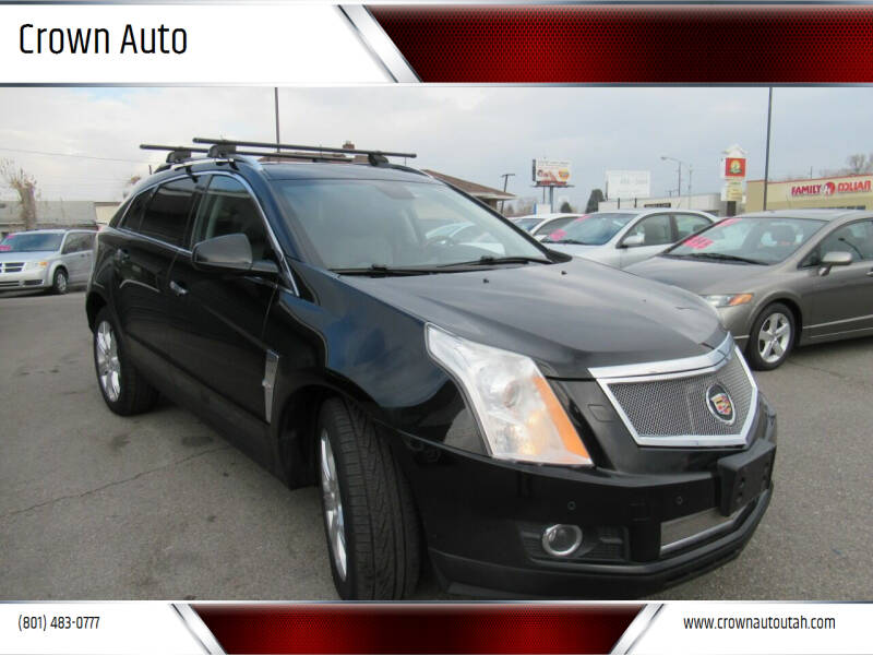 2010 Cadillac SRX for sale at Crown Auto in South Salt Lake City UT