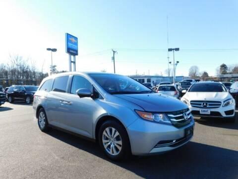 2016 Honda Odyssey for sale at Radley Cadillac in Fredericksburg VA