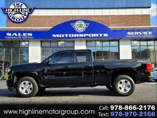 2017 Chevrolet Silverado 1500 for sale at Highline Group Motorsports in Lowell MA