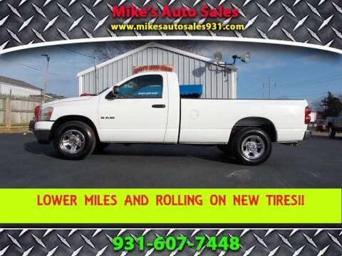 2008 Dodge Ram Pickup 1500 for sale at Mike's Auto Sales in Shelbyville TN