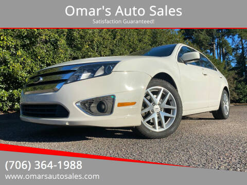 2012 Ford Fusion for sale at Omar's Auto Sales in Martinez GA
