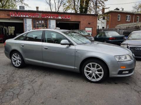 2010 Audi A6 for sale at HARTFORD MOTOR CAR in Hartford CT