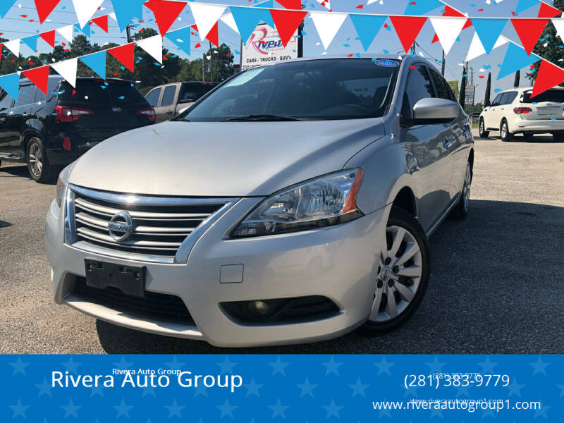 2014 Nissan Sentra for sale at Rivera Auto Group in Spring TX