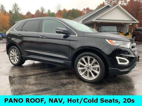 2018 Ford Edge for sale at Drivers Choice Auto & Truck in Fife Lake MI