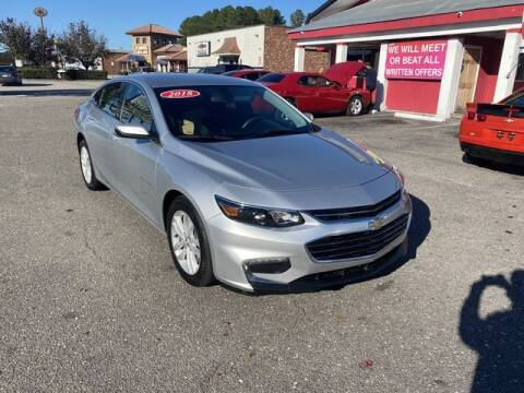 2018 Chevrolet Malibu for sale at Sell Your Car Today in Fayetteville NC