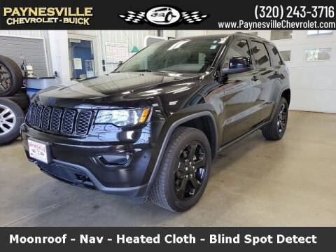 2019 Jeep Grand Cherokee for sale at Paynesville Chevrolet Buick in Paynesville MN