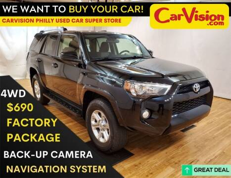 2019 Toyota 4Runner for sale at Car Vision Mitsubishi Norristown - Car Vision Philly Used Car SuperStore in Philadelphia PA
