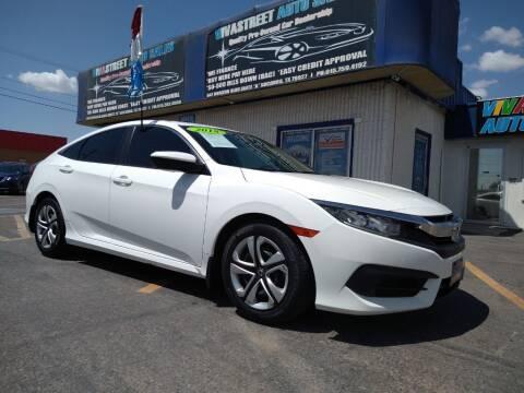 2018 Honda Civic for sale at VIVASTREET AUTO SALES LLC - VivaStreet Auto Sales in Socorro TX