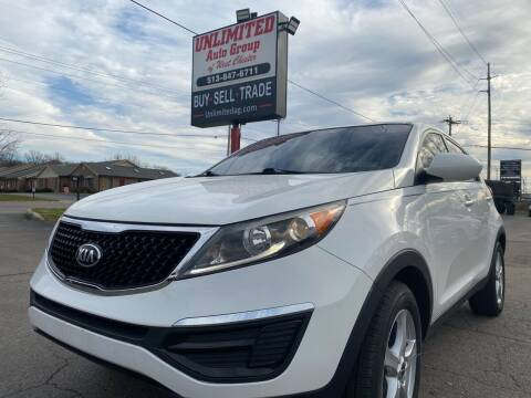 2014 Kia Sportage for sale at Unlimited Auto Group in West Chester OH