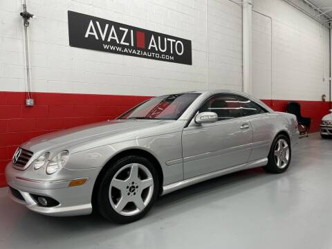 2004 Mercedes-Benz CL-Class for sale at AVAZI AUTO GROUP LLC in Gaithersburg MD