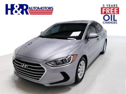 2017 Hyundai Elantra for sale at H&R Auto Motors in San Antonio TX