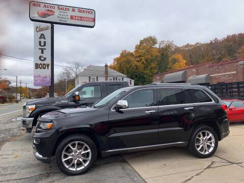 2015 Jeep Grand Cherokee for sale at 401 Auto Sales & Service in Smithfield RI