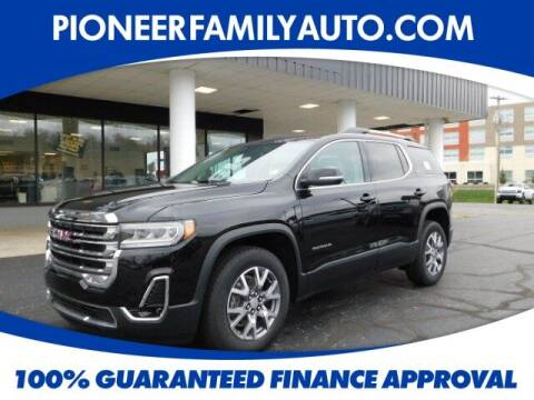 2020 GMC Acadia for sale at Pioneer Family Preowned Autos in Williamstown WV