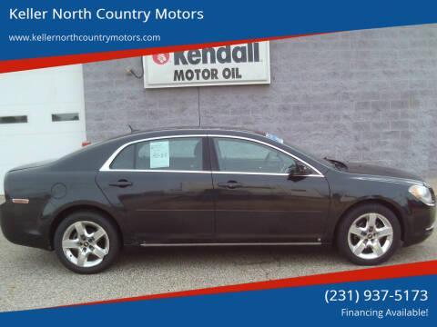 2009 Chevrolet Malibu for sale at Keller North Country Motors in Howard City MI