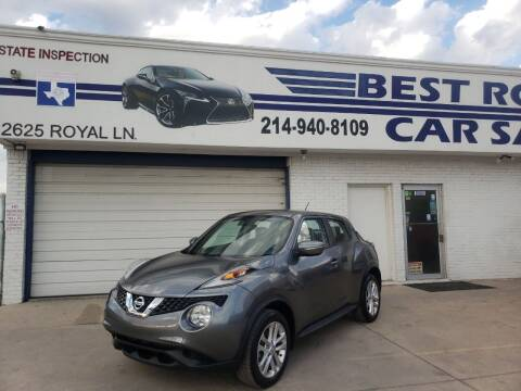 2015 Nissan JUKE for sale at Best Royal Car Sales in Dallas TX
