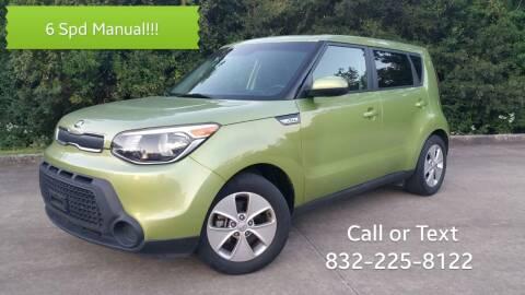 2016 Kia Soul for sale at Houston Auto Preowned in Houston TX