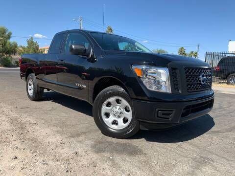 2017 Nissan Titan for sale at Boktor Motors in Las Vegas NV