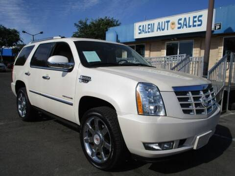 2012 Cadillac Escalade for sale at Salem Auto Sales in Sacramento CA