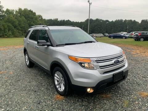 2013 Ford Explorer for sale at Sanford Autopark in Sanford NC