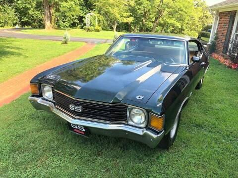 1972 Chevrolet SS 454 for sale at Black Tie Classics in Stratford NJ