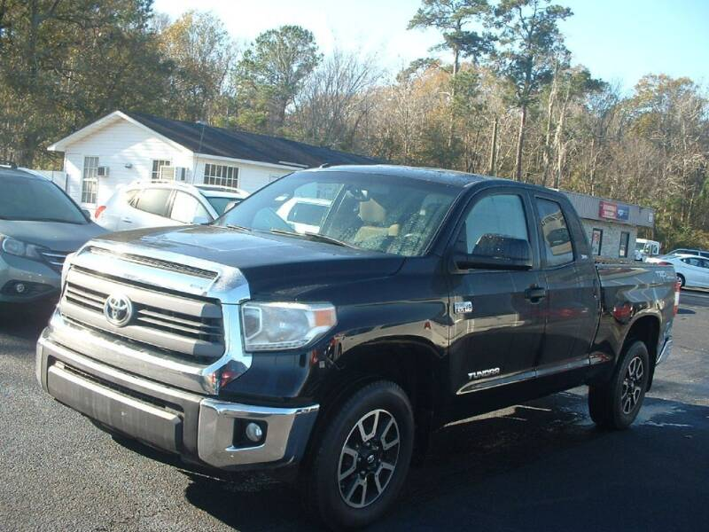 2014 Toyota Tundra for sale at Northgate Auto Sales in Myrtle Beach SC
