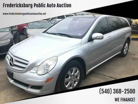 2007 Mercedes-Benz R-Class for sale at FPAA in Fredericksburg VA