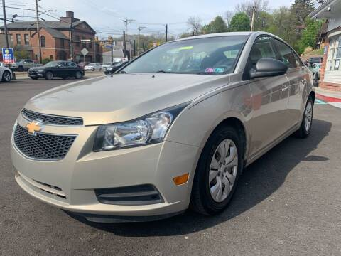 2012 Chevrolet Cruze for sale at Fellini Auto Sales & Service LLC in Pittsburgh PA