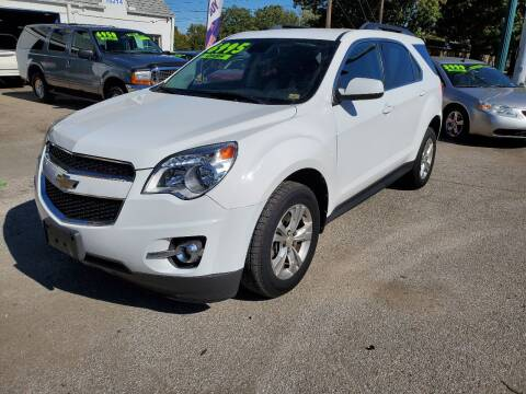 2012 Chevrolet Equinox for sale at Street Side Auto Sales in Independence MO
