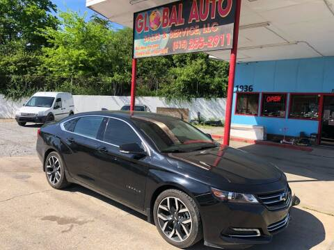 2018 Chevrolet Impala for sale at Global Auto Sales and Service in Nashville TN