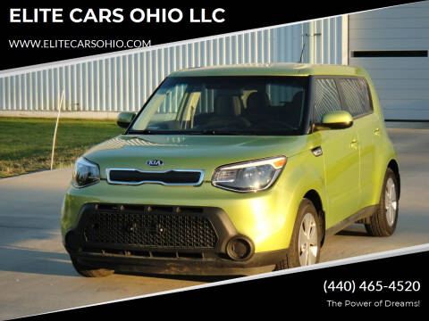 2016 Kia Soul for sale at ELITE CARS OHIO LLC in Solon OH