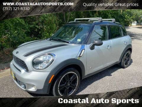 2012 MINI Cooper Countryman for sale at Coastal Auto Sports in Chesapeake VA